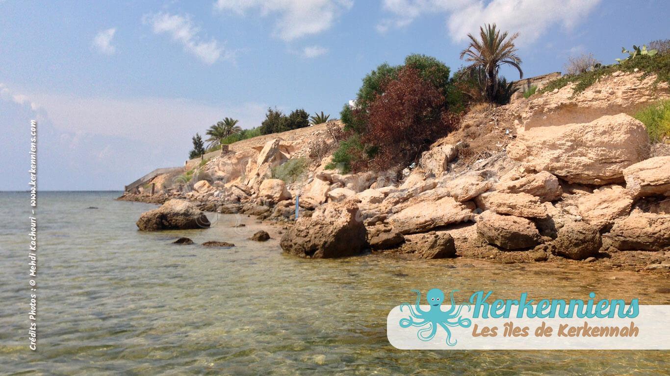 Côte de Sidi Fredj (Zone touristique) Kerkennah (Tunisie)