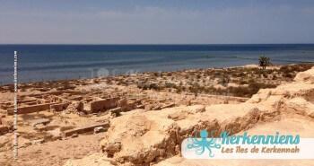 Fort Lahsar et vestiges de la ville antique Kerkennah (Tunisie)