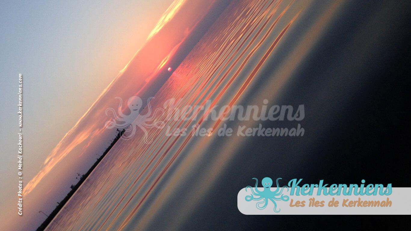 Kerkennah au coucher du soleil, harmonie - Kerkennah (Tunisie)