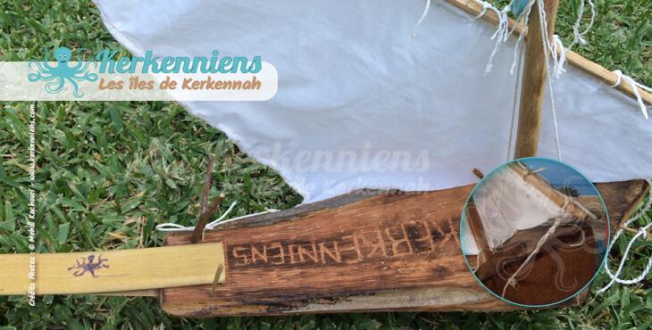 Construire une flouka l'ancre ficelle garnef