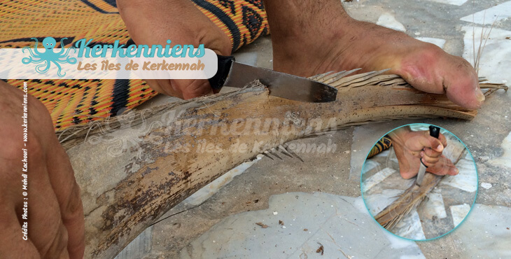 Sculpter la Garnef avec un couteau
