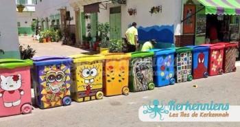 Bacs creatifs poubelle maroc