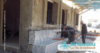 Travaux de rénovation restaurant Le Régal Chez Najet Kerkennah Tunisie Image