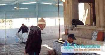 Travaux de rénovation restaurant Le Régal Chez Najet Kerkennah Tunisie Image 3