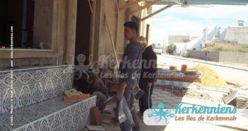Travaux de rénovation restaurant Le Régal Chez Najet Kerkennah Tunisie Image 4