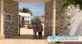 Entrée de l'école primaire de Ouled Yaneg Kerkennah (Tunisie)