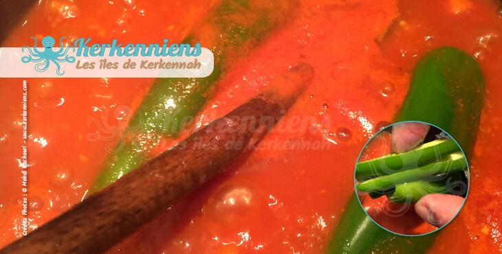 Recette de cuisine Spaghettis aux crevettes épices piments vert