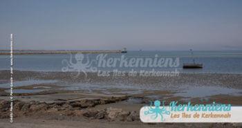 Marée basse, les teintes bleutées emportent les âmes au dessus de l'horizon
