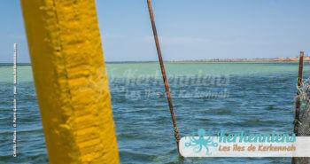 Kerkena vue d'une barque méditerranée Kerkennah juin 2016 - Pierre Gassin