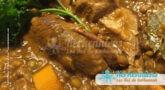 Lentilles (A3dass) fondantes à l'agneau (bel allouch) et aux épices