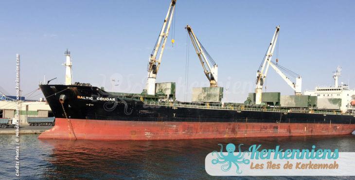 Port de Sfax Tanker Baltic Cougar