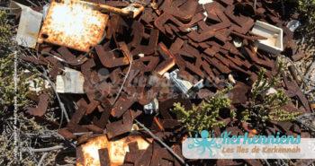 Le fer en abondance en dépôt libre service propreté vue par Kerkennah