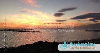 Coucher de soleil à Kerkennah (Décembre 2012)