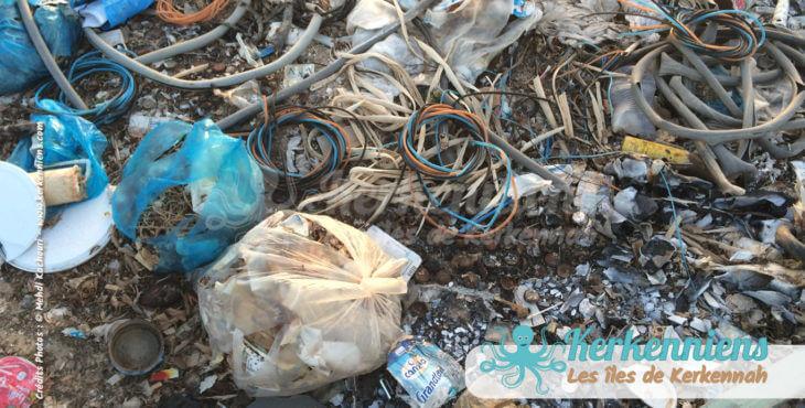 Zoom de la déchetterie propreté vue par Kerkennah