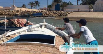 Départ de la baie de Bounouma pour Sefnou