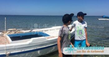 Découverte de Sefnou en bateau et discussion entre grands garçons