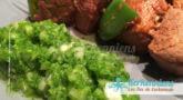 Beurre de piment aux feuilles de coriandre fraiche