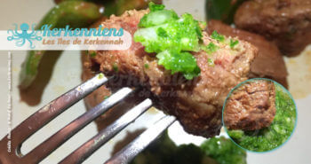 Viande avec du Beurre de piment aux feuilles de coriandre fraiche recette de cuisine
