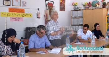 Ouverture du Prix de lecture Naceur Zalila 2016 par le Directeur de l'école Ouled Yaneg