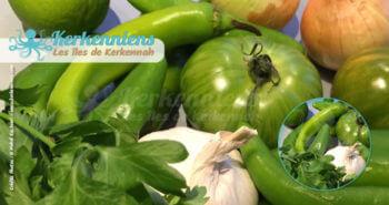 Recette cuisine : Ingrédients pour la Recette du beurre de Piment aux feuilles de Coriandre fraiche