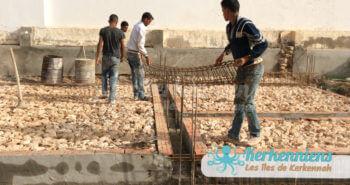 Fondation et sécurisation cantine scoclaire de Ouled Yaneg