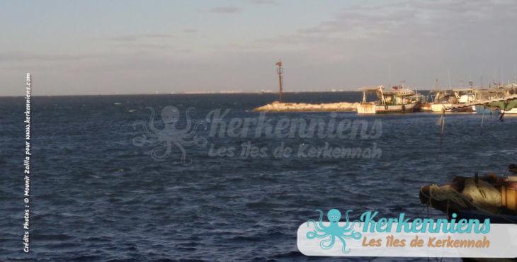 Sidi Youssef en attendant le bateau de Kerkennah