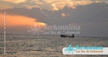 Kerkennah sunset and flouka (babour)