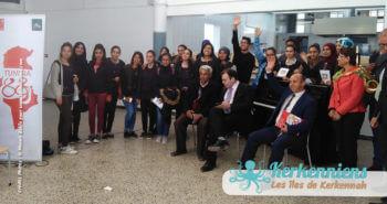 Avec Tunisia 88 : Le Lycée de Kerkennah à Remla à la fête