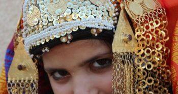 Bijoux artisanaux de la tenue traditionnelle de mariage kerkennien