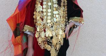 Tenue traditionnelle de mariage kerkennien en location