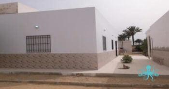 Façade – Construction d'une cantine scolaire SOURIRES D'ENFANTS – Fin des travaux
