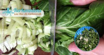 Recette de cuisine Market Khodhra bel Karnit Borghol blettes