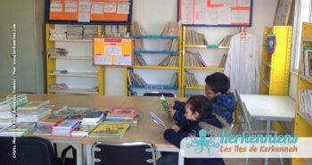 Bibliothèque en devenir de l'école primaire de Ouled Yaneg, Kerkennah