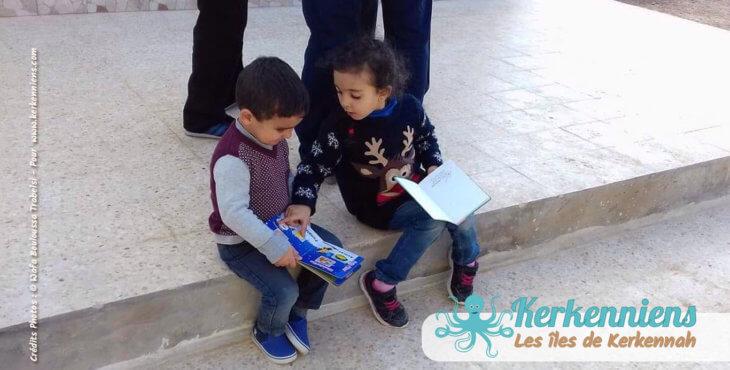 collecte de livres et de supports documentaires pédagogiques afflue à Kerkennah