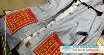 Veste Mariem Khanfir Lella Kmar création artisanale de bijoux et accessoires Kerkenniens