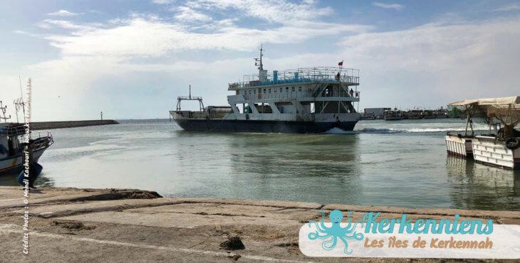 Horaires des bateaux pour la période estivale Kerkennah 2018