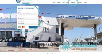 Réservation du bateau pour votre véhicule Sfax Kerkennah SONOTRAK