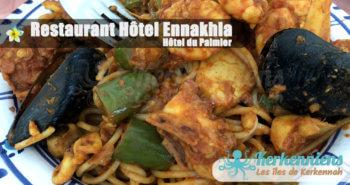 Restaurant Hôtel Ennakhla (Hôtel du Palmier) spaghettis de fruits de mer