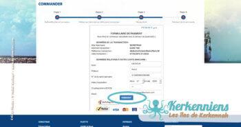 Paiement de votre réservation - Réservation du bateau pour votre véhicule Sfax Kerkennah SONOTRAK