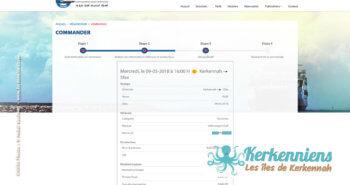 Récapitulatif de votre réservation - Réservation du bateau pour votre véhicule Sfax Kerkennah SONOTRAK