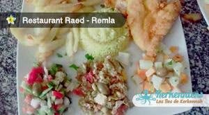 Entrées et hors d'œuvre – Restaurant Raed (Remla) Kerkennah
