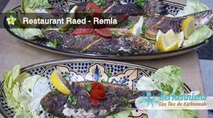 Poisson grillé (Poisson du jour) Restaurant Raed (Remla) Kerkennah