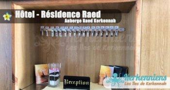 Réception Hôtel – Résidence Raed Kerkennah (Ramla)