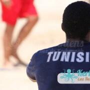 Beach volleyball retour Tournoi de Beach volley Association Sports et Loisirs de Kerkennah