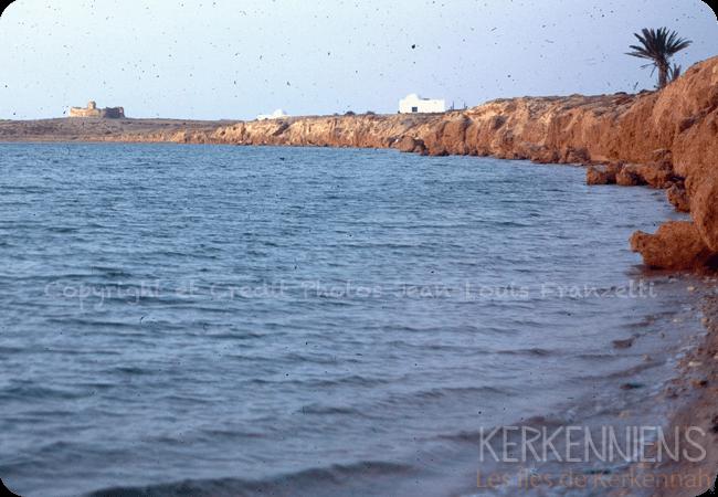 Une vue exceptionnelle du Fort Lahsar Sidi fredj côté ile de Kerkennah