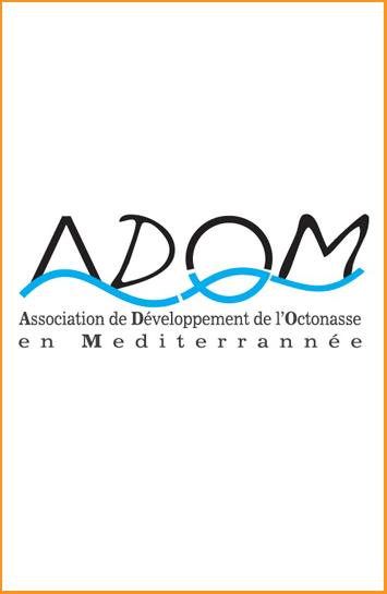 Logo Association de Développement de l'Octonasse en Mediterrannée (ADOM)