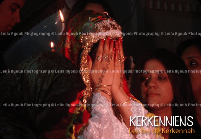 Mariage Kerkennah jelwa Mariee - Photo de Leila Ayoub Kerkennienne