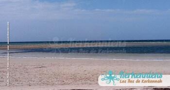 La plage du Grand Hôtel de Kerkennah Tunisie