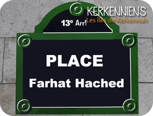 Place Farhat Hached à Paris (13e arrondissement) - Kerkenna