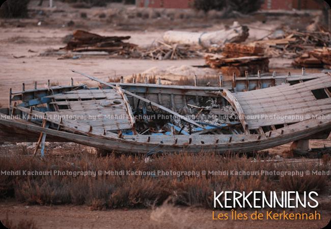 Réparer sa barque de pêche à Kerkennah, ou la laisser mourir ?